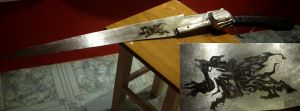 Final Fantasy VIII Gunblade 'Revolver' r by PolishPsycho