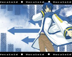 Vocaloid: Kaito Wallpaper by Balrond