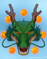 Shenlong Dragon ball by kajinman