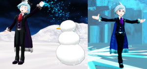 [MMD] Let it Go [ORAS Steven] REMAKES by Nintendraw