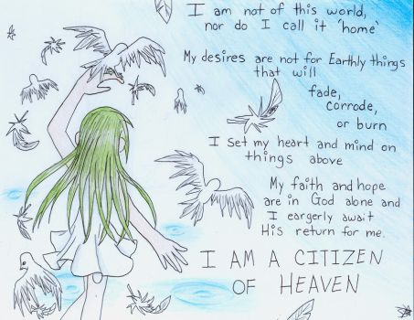 redid i am a citizen of heaven by viathatoneartist