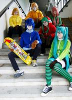 Matryoshka group photo 2 by Kiosa