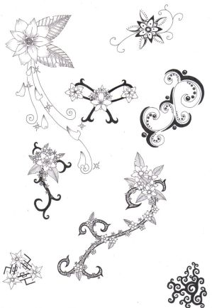 Flower Tattoos on New Tattoo Design  Flower Tattoo Gallery