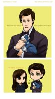 The Tardis is like a cat by Tsuki-Nekota