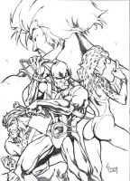 Thundercats-pencils by Matelandia