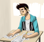 Stiles is studying by Astrera