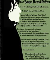 How Snape Hated Potter - Page 1 by ruebella-b
