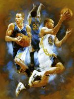 Steph Curry by youngandreckless