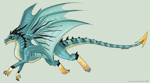 Blue Dragon Adopt! (CLOSED) by Arklen