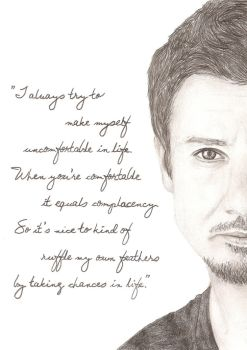Jeremy Renner - Ruffle My Own Feathers by Stephy-McFly