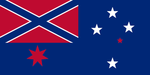 Confederate States of Australia by Alternateflags