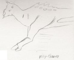 Belly-thrower by Fingertier