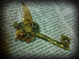 Time Traveler's Fantasy Key by ArtByStarlaMoore