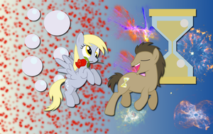 Derpy Whooves wallpaper by AliceHumanSacrifice0