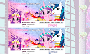 Facebook Timeline MLP Wedding Celebration Pack by BlueDragonHans