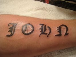 forearm tattoo by bevf2003