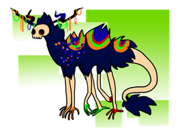 Fancy Monster Adopt by Saejay
