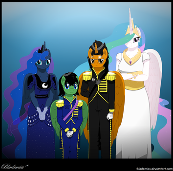 The Royal Family by blademiss