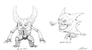 Pokemon: Pinsir and Haunter Lines