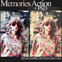Memories action and PSD by Hesavampire