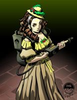 Victorian Ghostbusting - Commission by EryckWebbGraphics