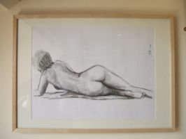 Reclining nude by jason-legon