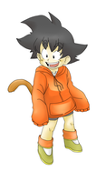 Request: Kid Goku by RakugakiGaki