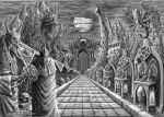 The Temple of Deimos by Xeeming