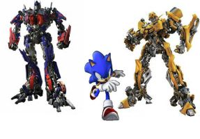 Sonic and the Transformers by CJPrime93