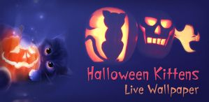Halloween Kittens Live Wallpaper by zharski
