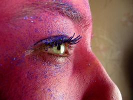 Pink and Blue Eye Stock VII by Melyssah6-Stock