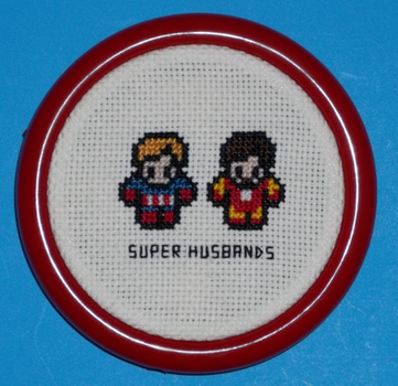 Superhusbands Cross Stitch by chujo-hime