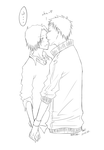 KHR- Kiss lineart by minghii
