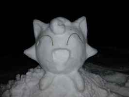 Winter 2014 Snow Jigglypuff by RedKymaera