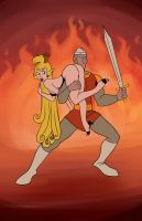 Dragon's Lair by TheCosbinator