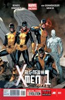 All New X-Men #1 by joshtylen