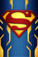 Superman Power Suit background idea by KalEl7