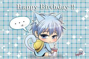 HBD to Kuroko and my friend by Crazy-megame