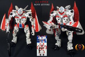 ROTF Jetfire G1 style custom by Unicron9