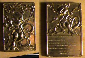 who remembers gold mewtwo pokemon card by Wub-Me
