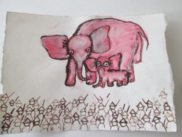 Elephant recycled at war 2 by DVanDyk