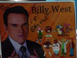 Billy West's Autograph by Codykins123