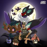 Happy Pokemon XY Halloween by Pandaphobia