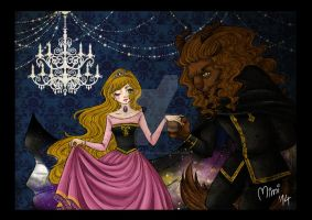 .beauty and the beast by mimiclothing
