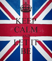 Keep Calm and Let It Be by Avangelina