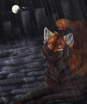 its just the rain by toskurra