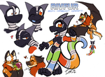 (new) RivFur Mascots! by carnival