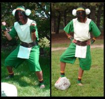 Toph cosplay by Cristophine