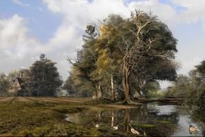 Greenwood Country Park by DIGITAL-DOM