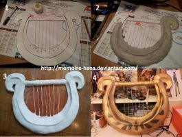 Zelda Skyward Sword Lyre Tutorial by memoire-hana